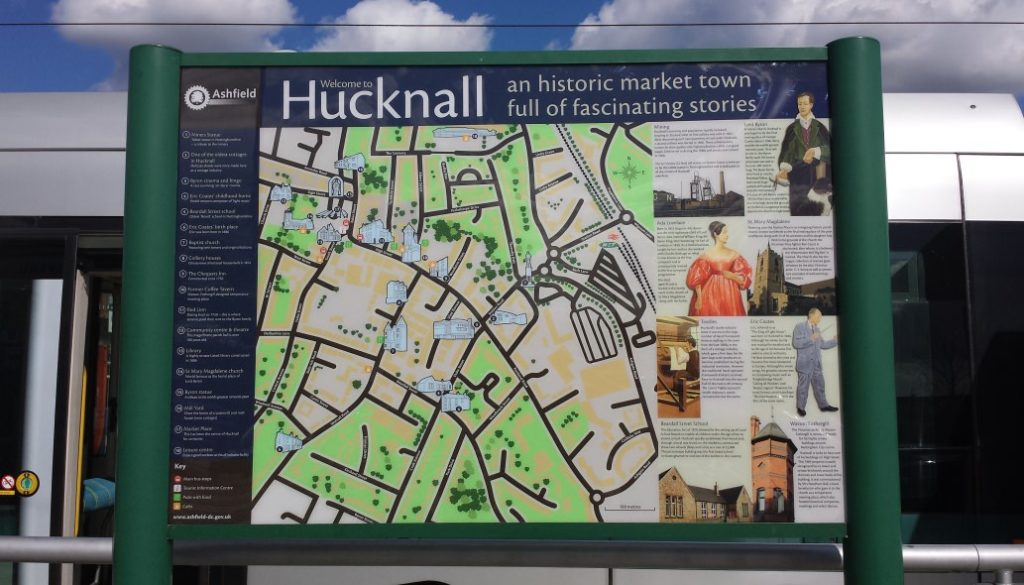 Hucknall ashfield council post plank Viewtec signs