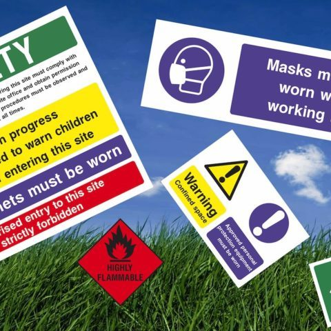 Health and safety signs Viewtec Nottingham
